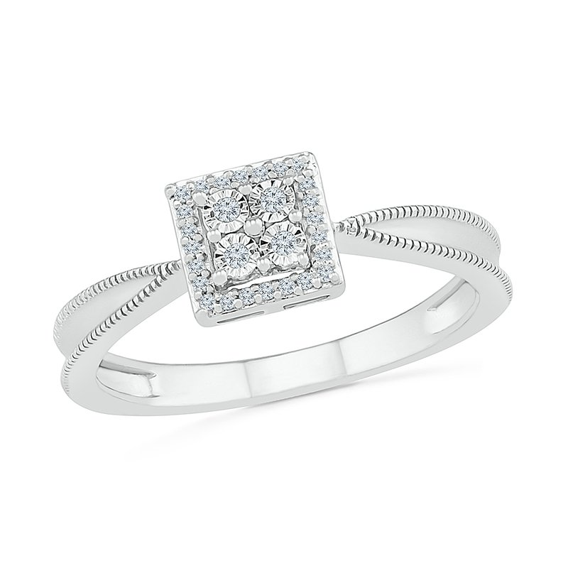 Gifts That Rock 1/12 ctw Diamond Promise Ring