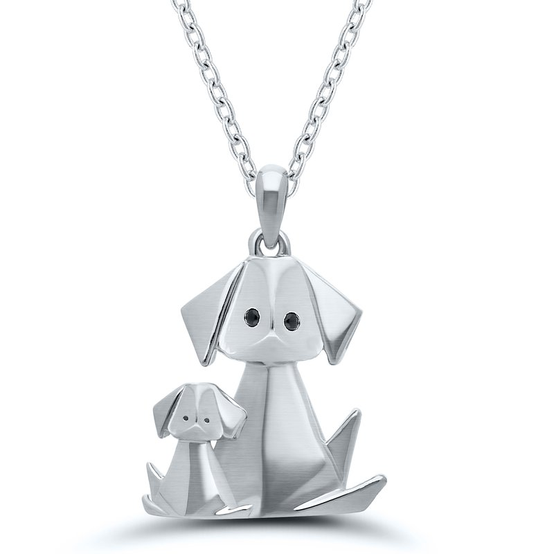 Gifts That Rock Origami Dog with Puppy