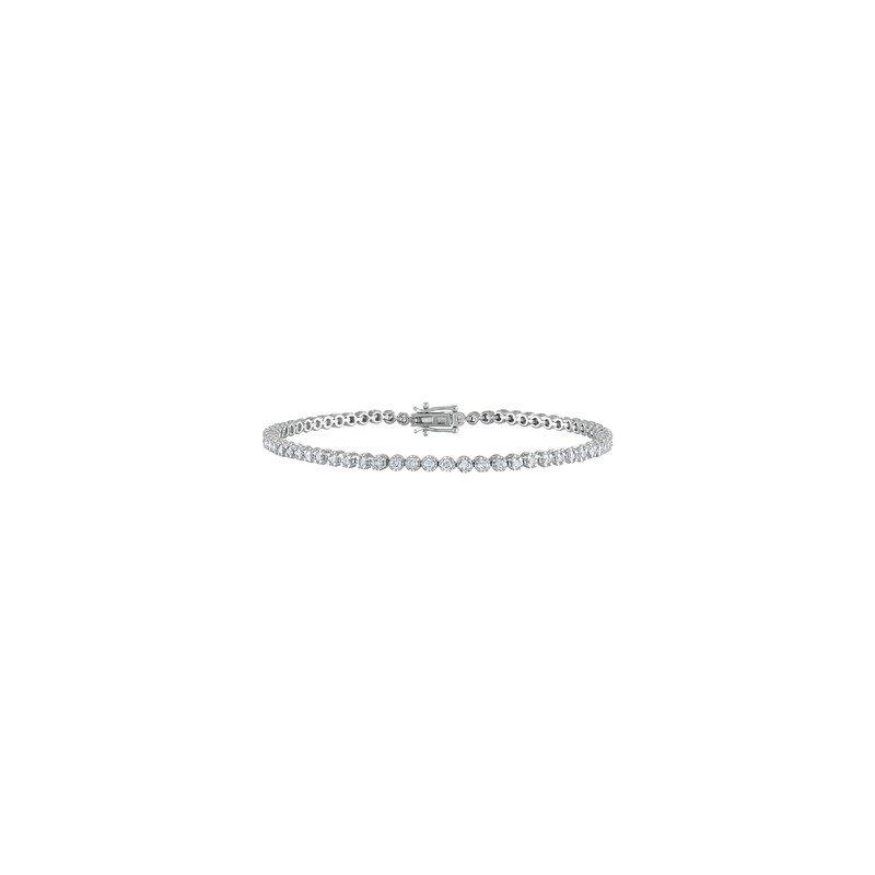Lab Grown Diamonds 1.75ctw Lab Grown Diamond Tennis Bracelet
