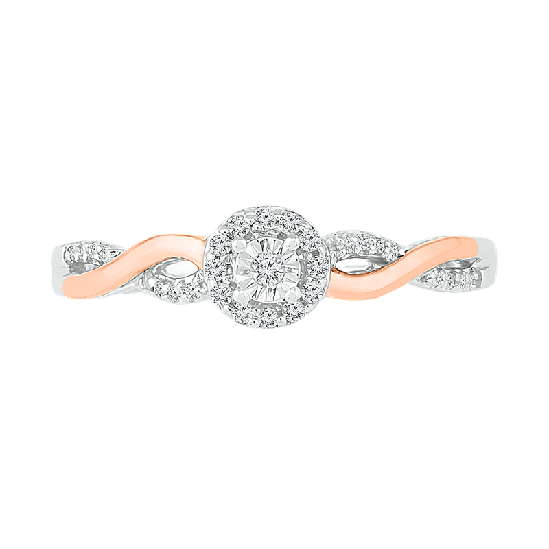 Gifts That Rock Two Tone Promise Ring