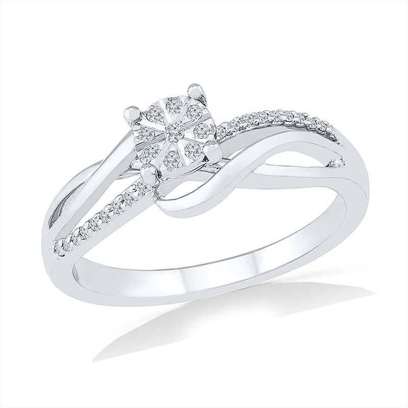 Gifts That Rock Diamond Promise Ring