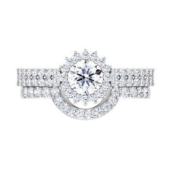 Certified 1/4ctw Diamond Wedding Band