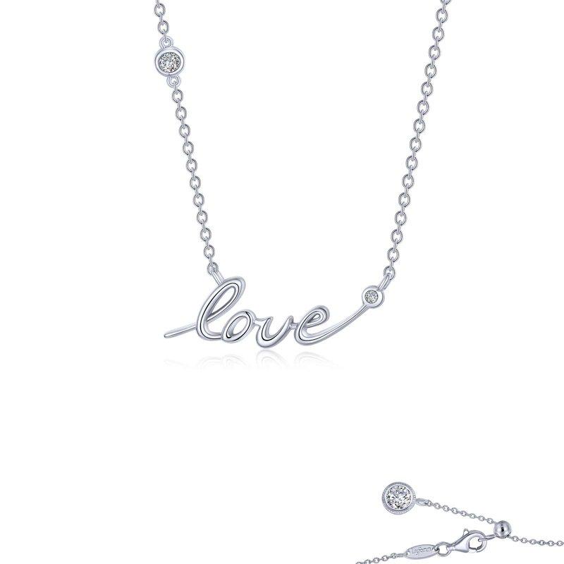LaFonn Love Word Necklace