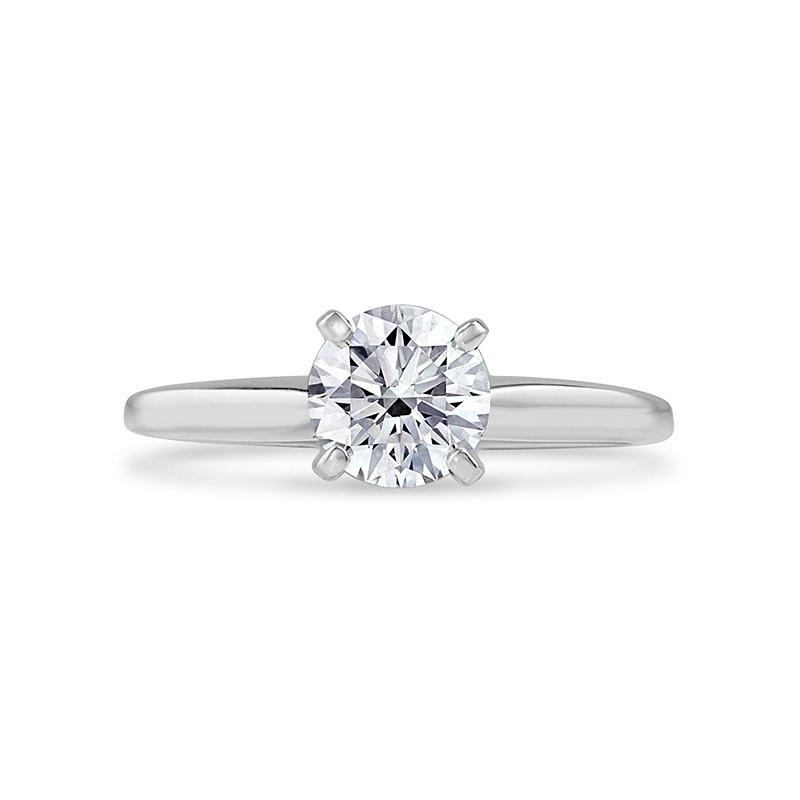 Lab Grown Diamonds 1ct Diamond Solitaire Engagement Ring