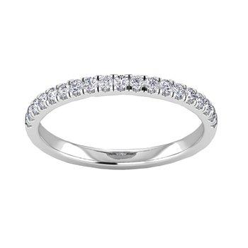 Certified 1/4ctw Matching Diamond Band
