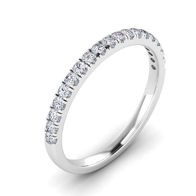 Lab Grown Diamonds Certified 1/4ctw Matching Diamond Band