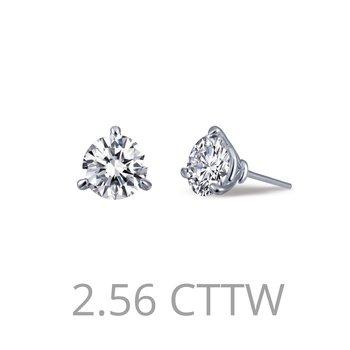2.56 CTW Stud Earrings