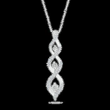 .13ctw Diamond Twist Necklace