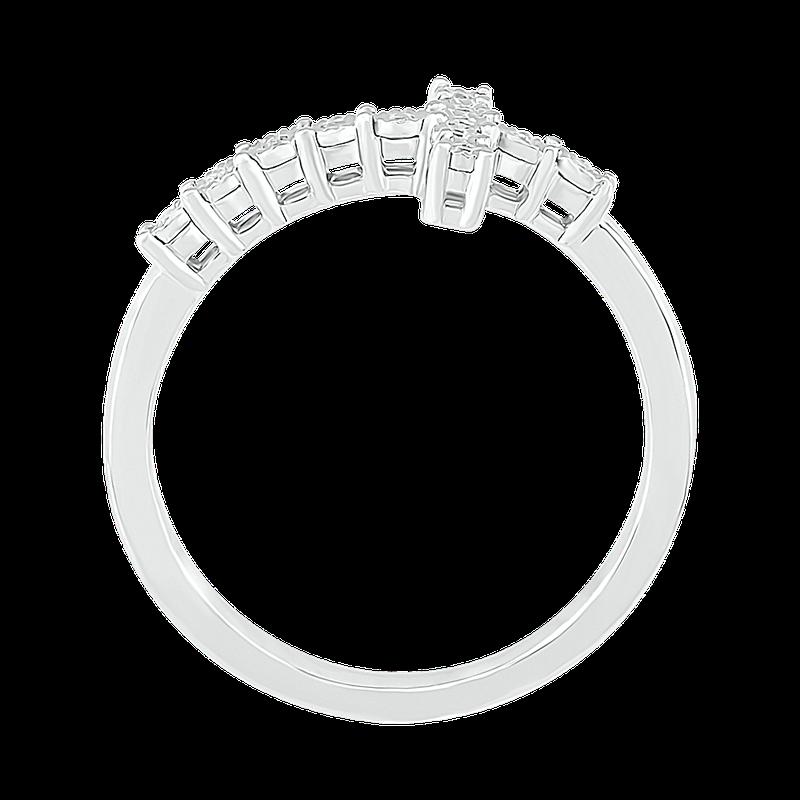 Gifts That Rock Diamond Illusion Cross Ring