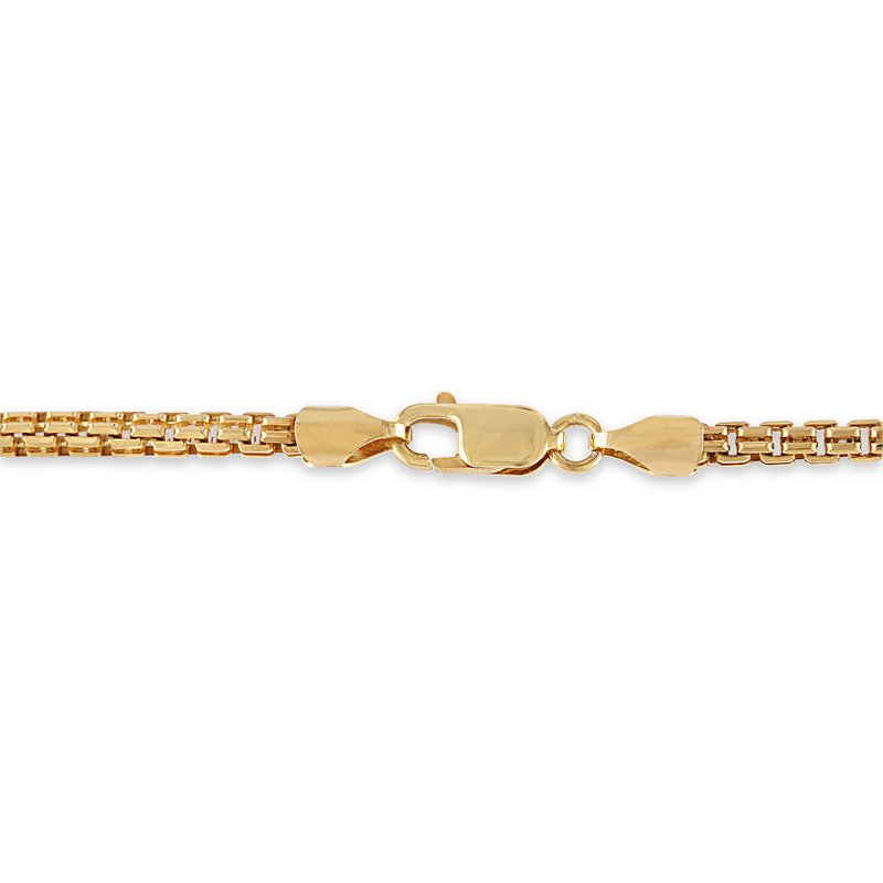 Esquire Men's Jewelry Gold and Silver Wheat Chain Necklace