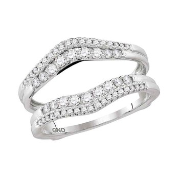 1/2ctw Diamond Ring Guard