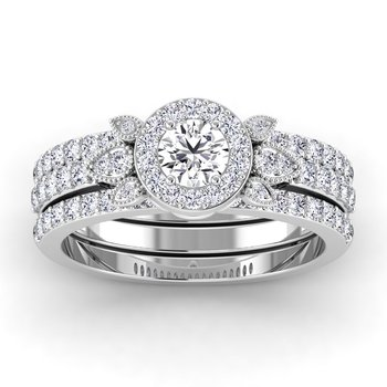 Certified 5/8ctw Engagement Ring