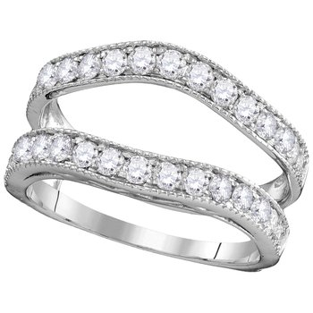 1ctw White Gold Diamond Ring