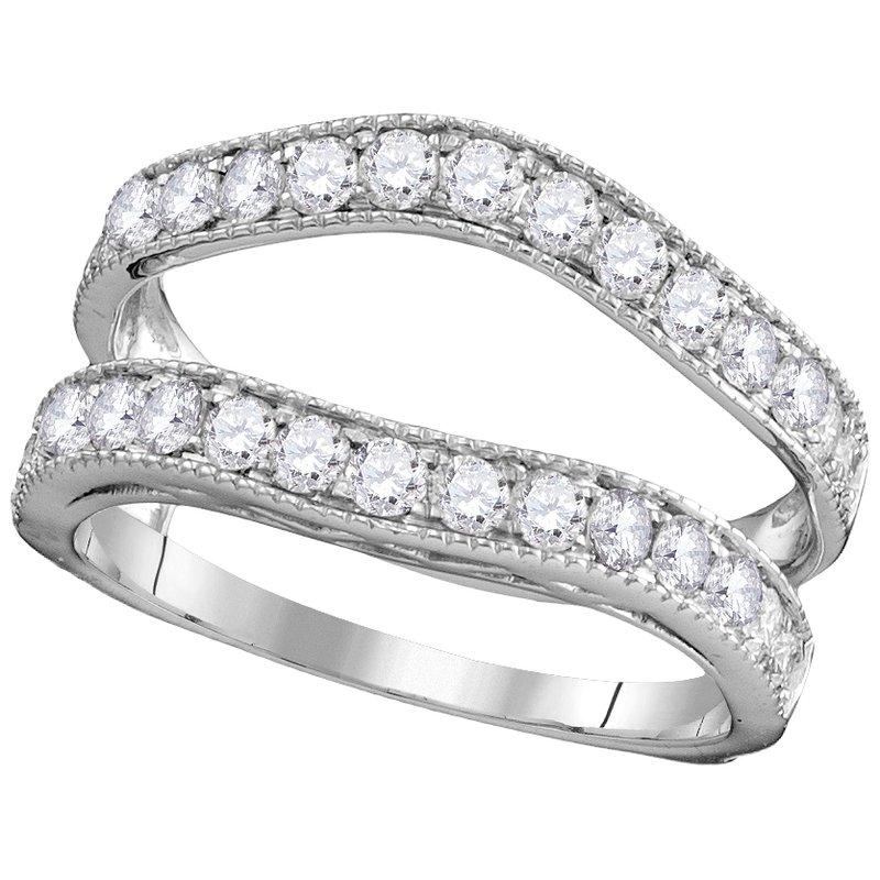 Saslow's & Henebry's Collection 1ctw White Gold Diamond Ring