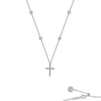0.41 CTW Cross Necklace