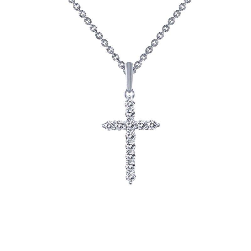 LaFonn 0.36 CTW Cross Pendant Necklace