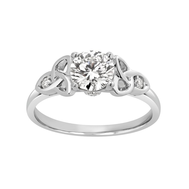 Lab Grown Diamonds Certified 1ctw Lab Grown Diamond Engagement Ring