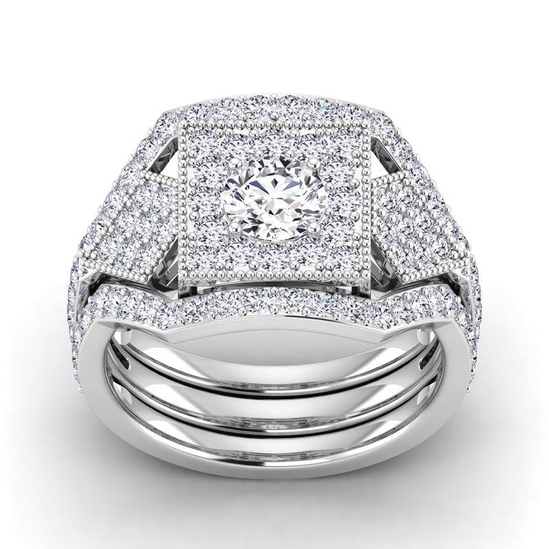 Lab Grown Diamonds Certified 5/8ctw Diamond Wedding Band