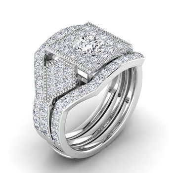 Certified 5/8ctw Diamond Wedding Band