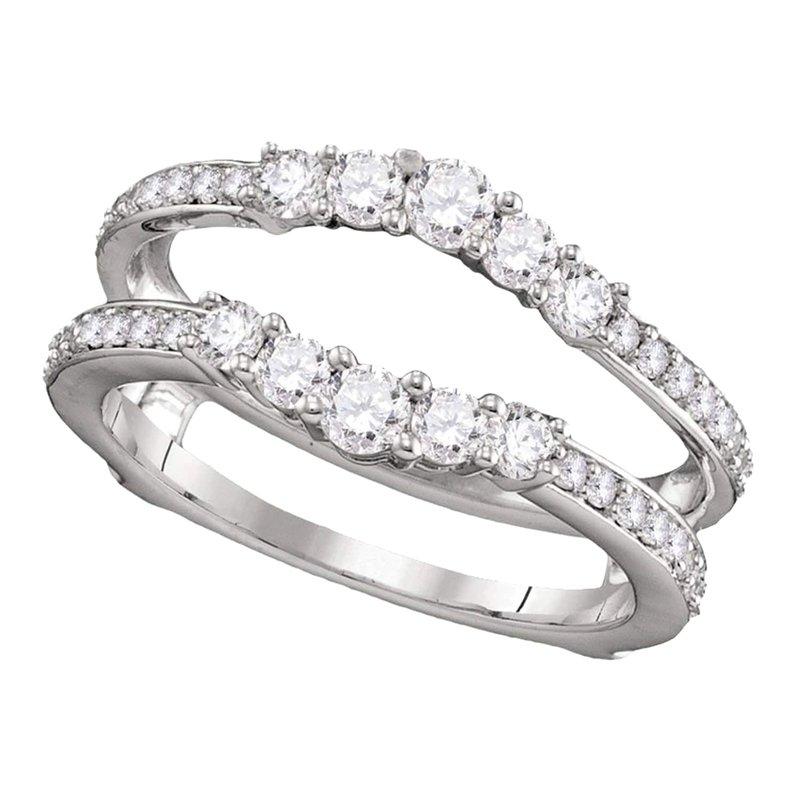 Saslow's & Henebry's Collection 3/4ctw Diamond Ring Guard