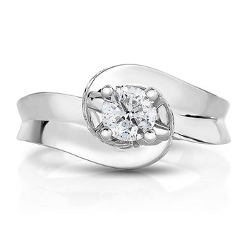 1ctw Round Brilliant Engagement Ring