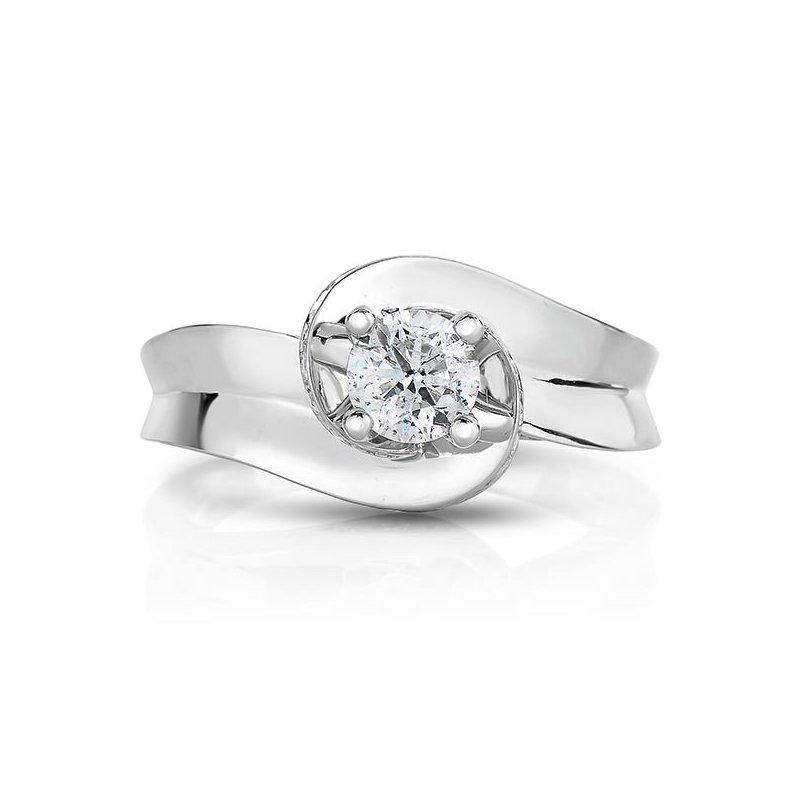 Promise Forever 1ctw Round Brilliant Engagement Ring