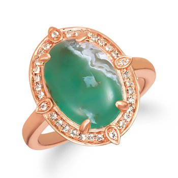 Aquaprase Oval Ring