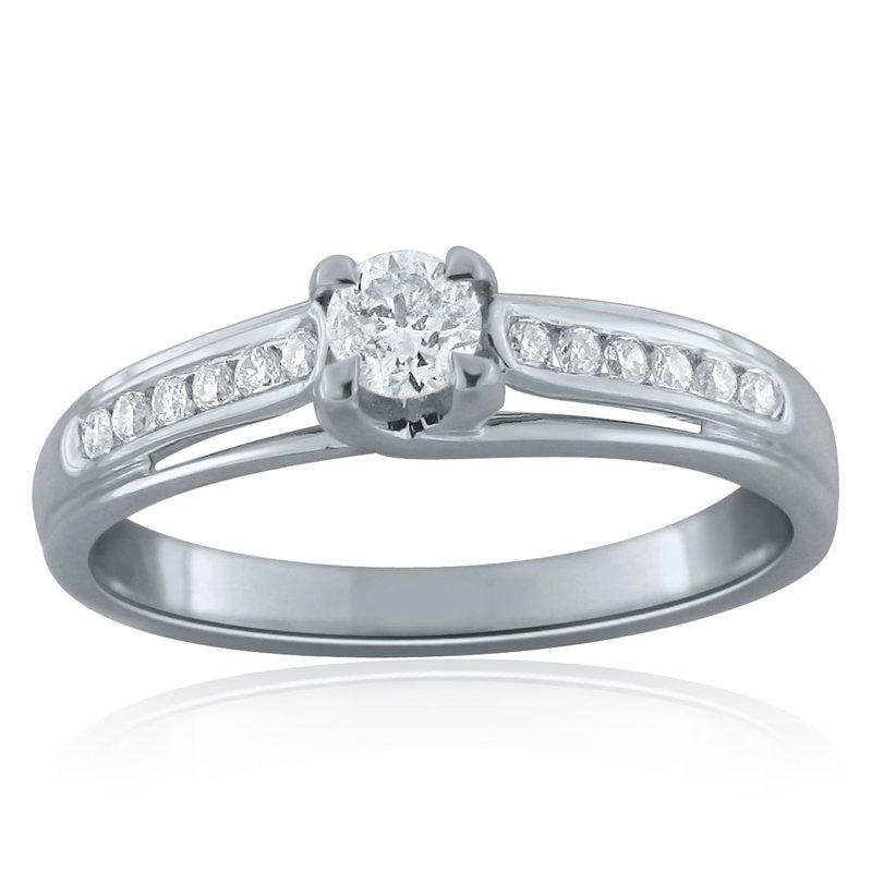 Promise Forever .51 ctw White Gold Bridal Set