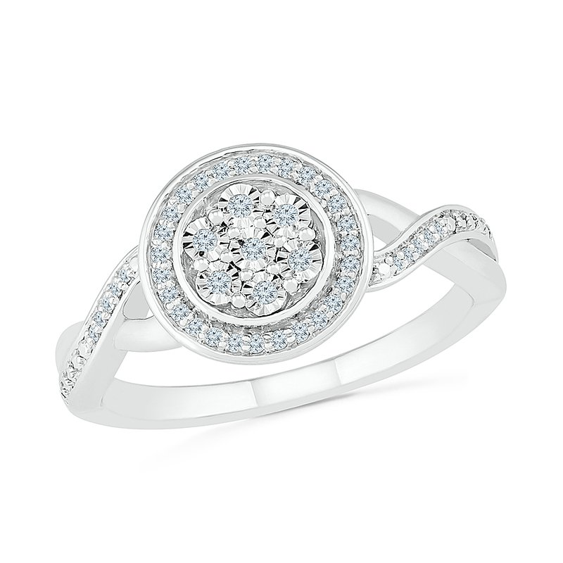 Gifts That Rock 1/8 ctw Diamond Promise Ring