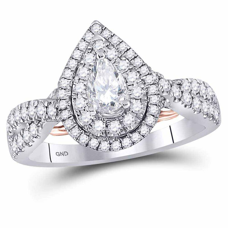 Bellissimo 1CT-DIA 1/3CT-CPE BELLISSIMO BRIDAL RING