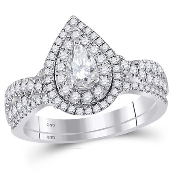 1ctw with 1/3ct Center Stone Bellissimo Bridal Set