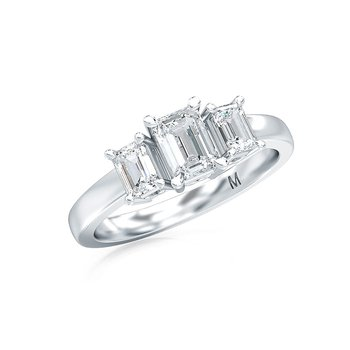 1 ctw-Stone Emerald Cut Diamond Ring