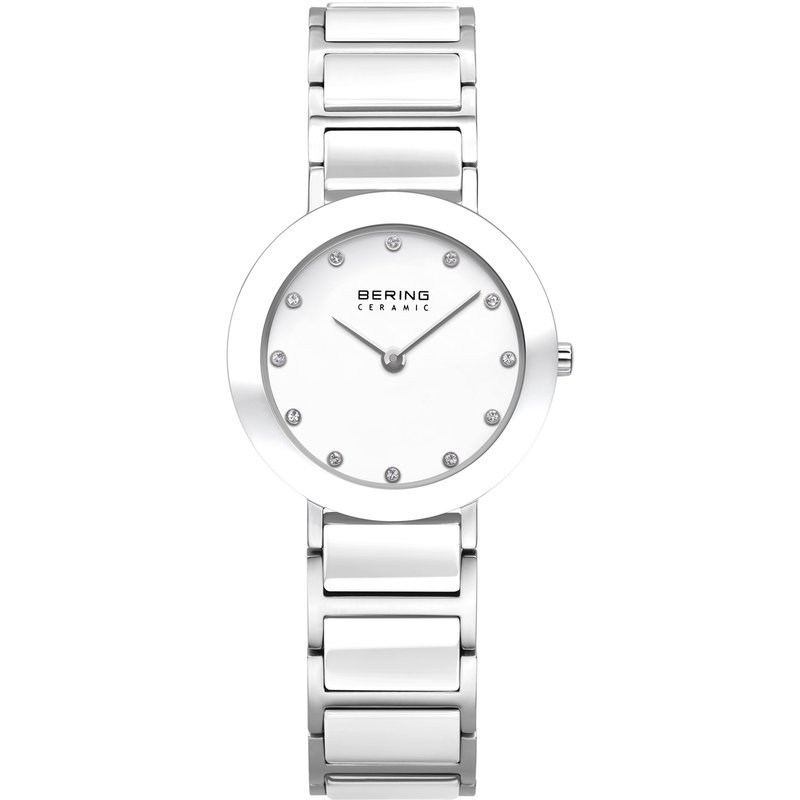 Bering  All White Ceramic Case & bracelet