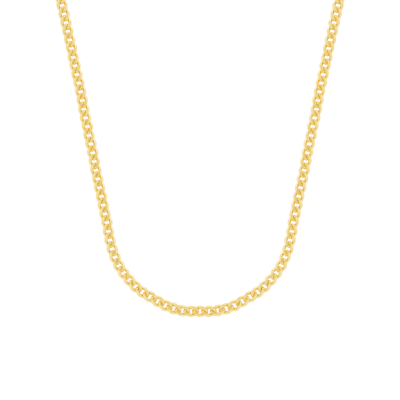 Gold Chains and Bracelets  14K Miami Cuban Chain