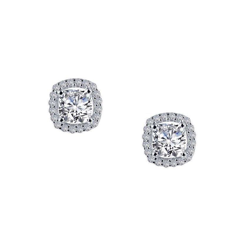 LaFonn 1.52 CTW Halo Stud Earrings