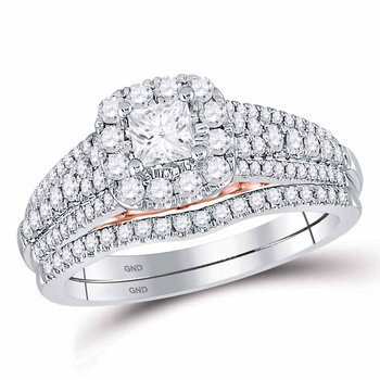 1 CT-DIA 1/3CT-CPR BELLISSIMO BRIDAL RING