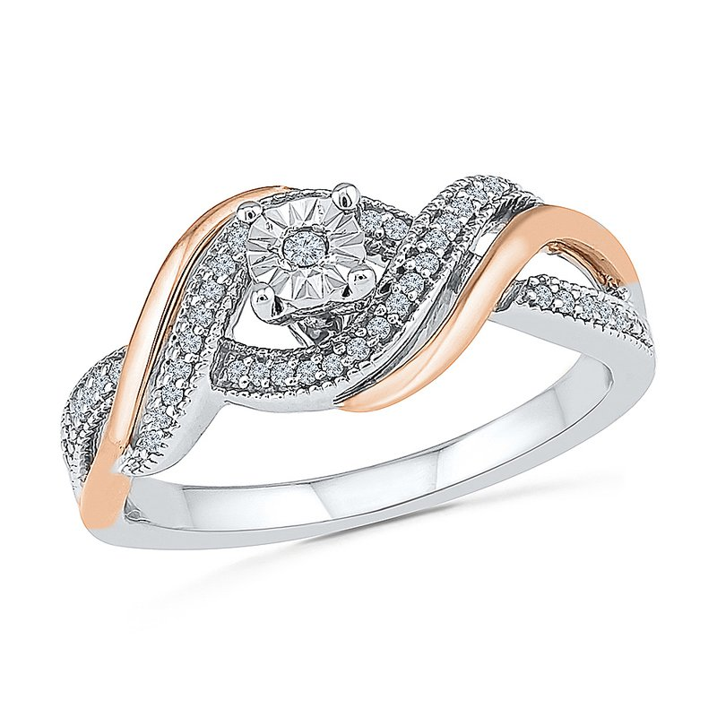Gifts That Rock .16CTW DIAMOND PROMISE RING