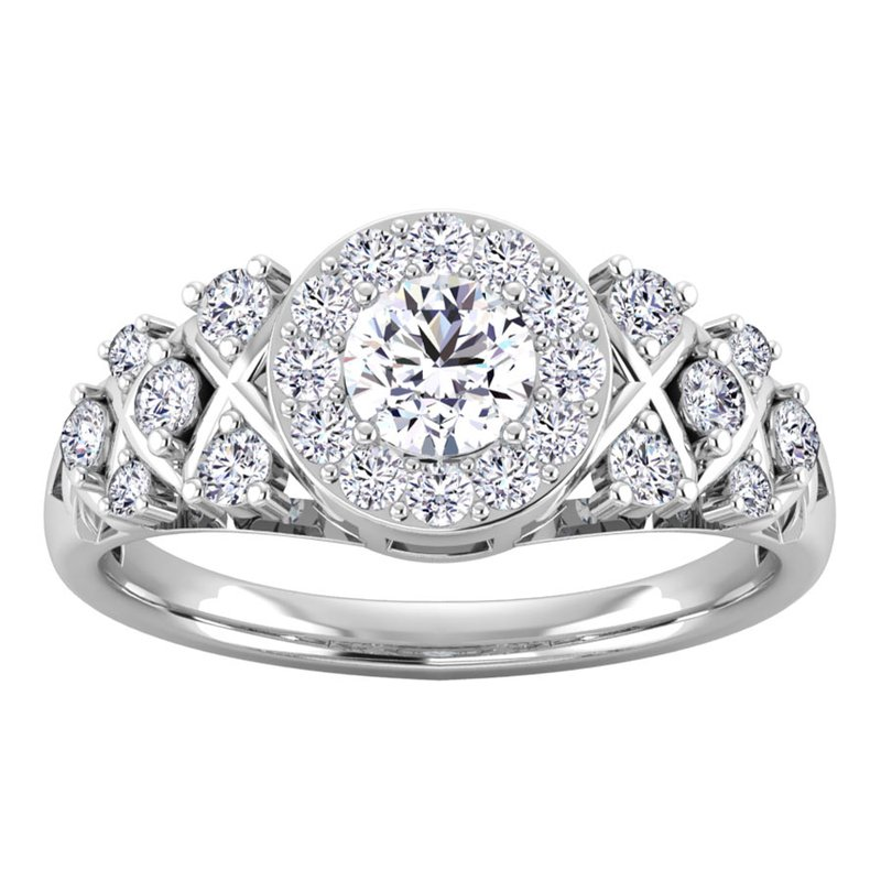 Lab Grown Diamonds Certified 1ctw Diamond Engagement Ring