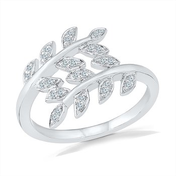Leaf Promise Ring