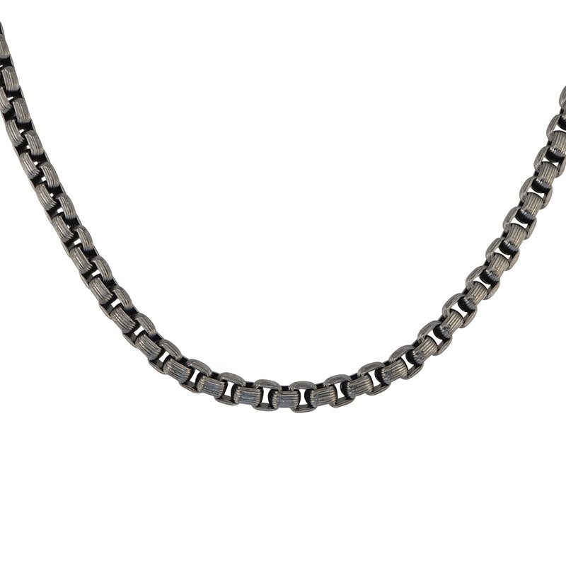 Steel Box Chain Necklace