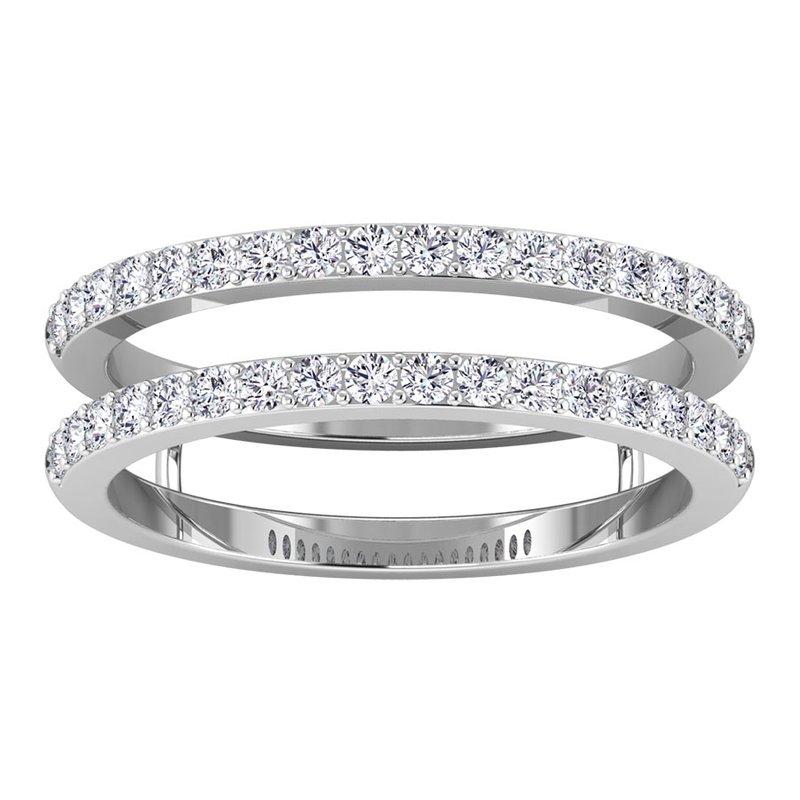 Lab Grown Diamonds Certified 3/8ctw Diamond Band