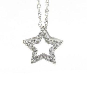 Shining Star Diamond Pendant