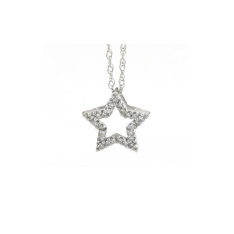 Gold Casters Special Collection Shining Star Diamond Pendant