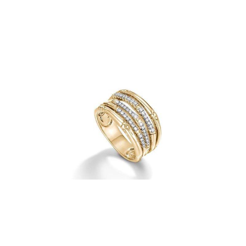 JOHN HARDY Bamboo Diamond Ring