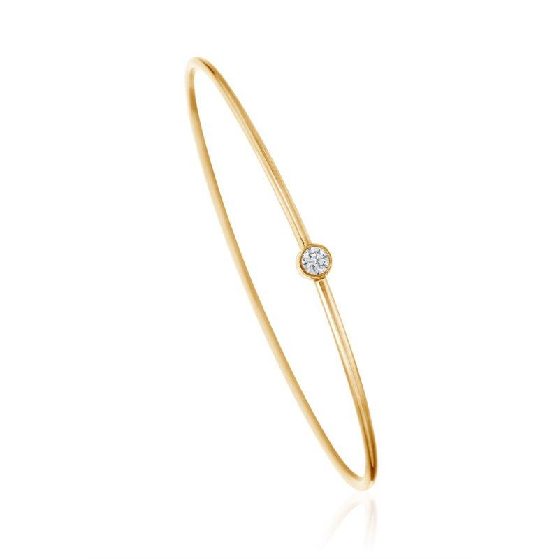 A. Link A.LINK DIAMOND BEZEL GOLD BRACELET