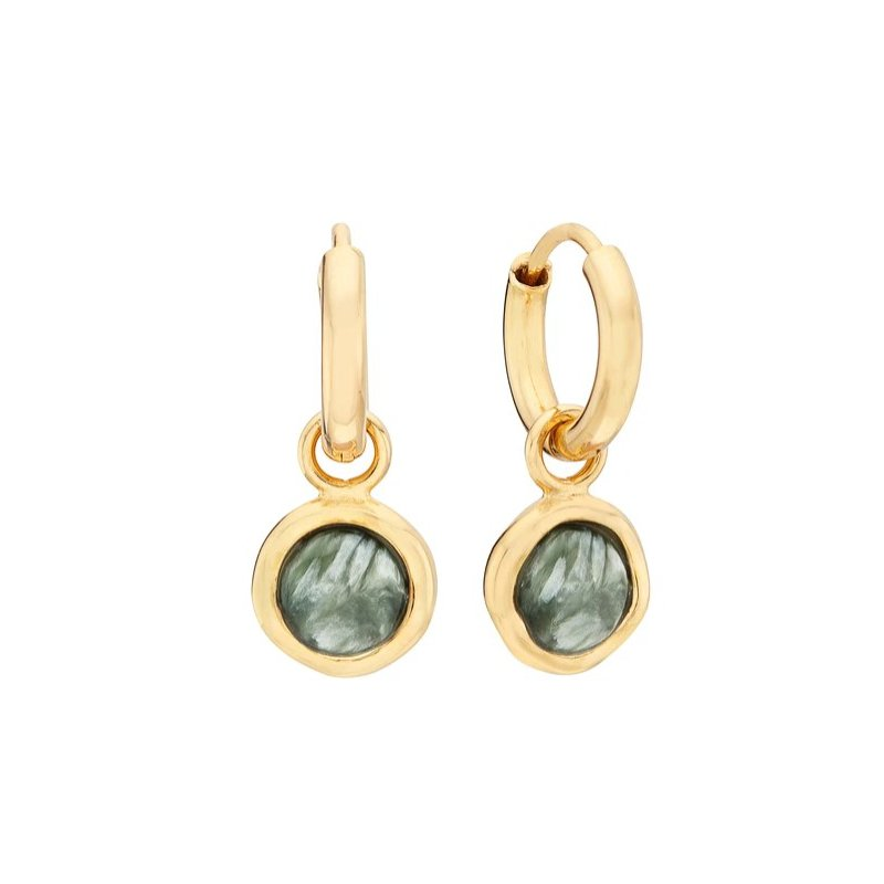 Anna Beck Seraphinite Charm Earrings