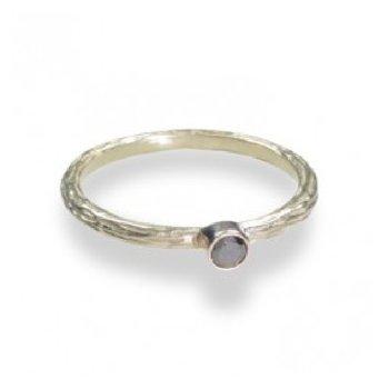 SARAH GRAHAM COGNAC DIAMOND RING