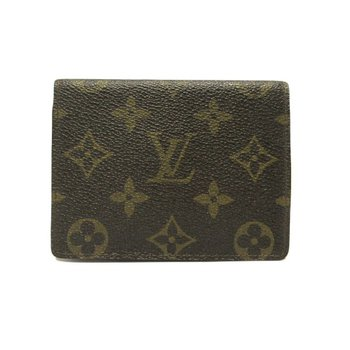 LOUIS VUITTON Monogram Canvas Bi-Fold Small Compact Wallet