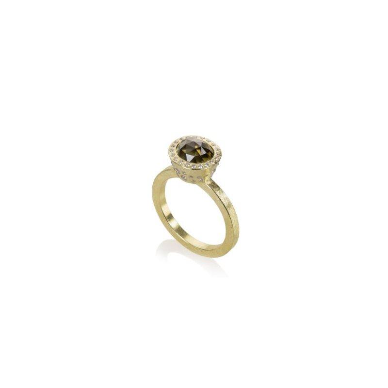 Todd Reed TODD REED AMBER DIAMOND RING
