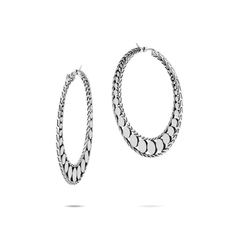 JOHN HARDY Dot Small Hoop Earrings
